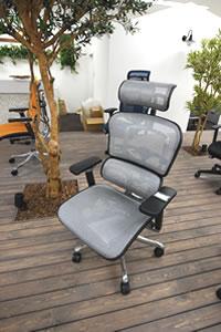 全種類展示中!高機能オフィスチェア Ergohumanのイメージ